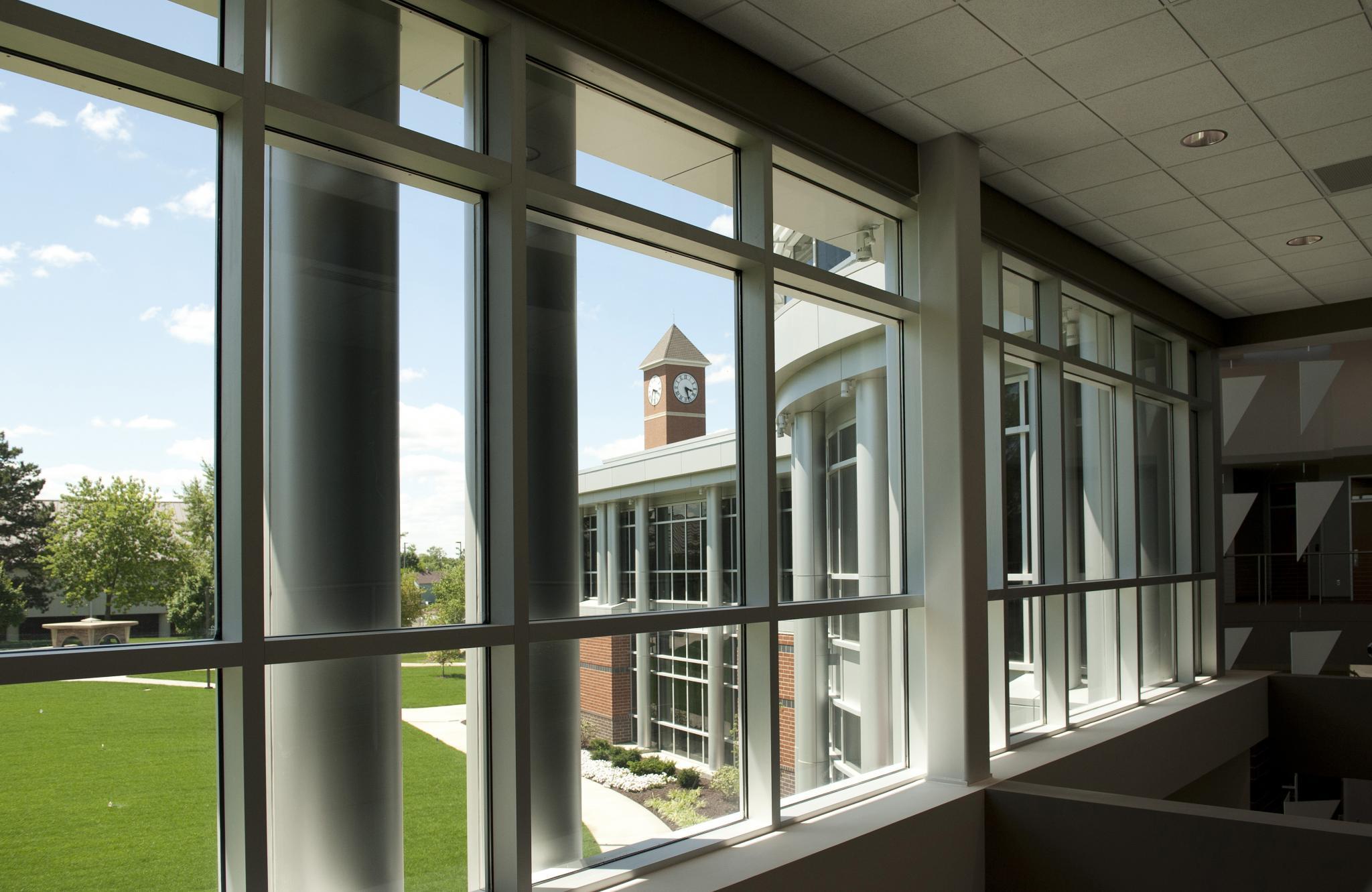 windows looking outside