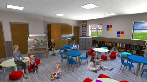Blackhawk Christian School Expansion Classroom