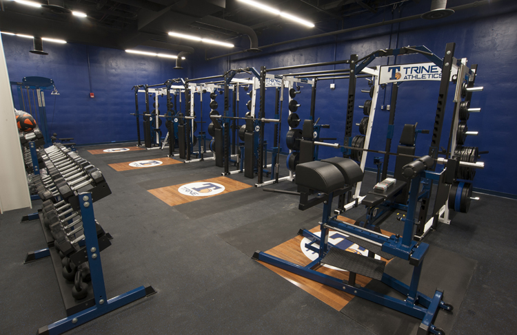 image of weight room
