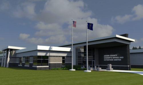 Adams County Justice Center Digital Rendering