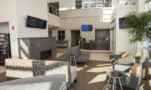 Aero Center Executive Terminal Fort Wayne Interior