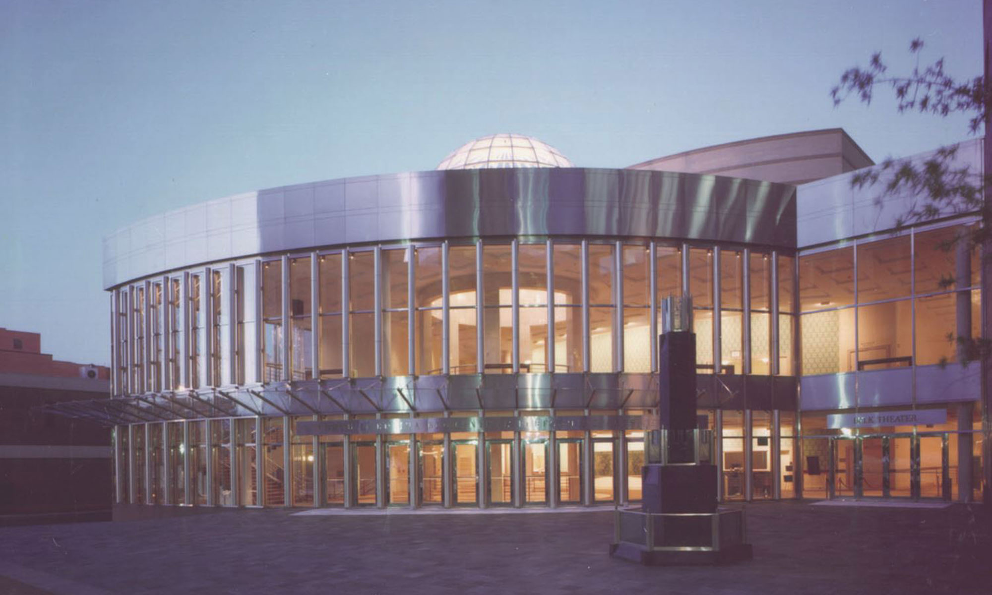 Blumenthal Performing Arts Center Exterior