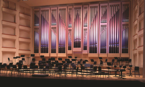 Blumenthal Performing Arts Center Interior