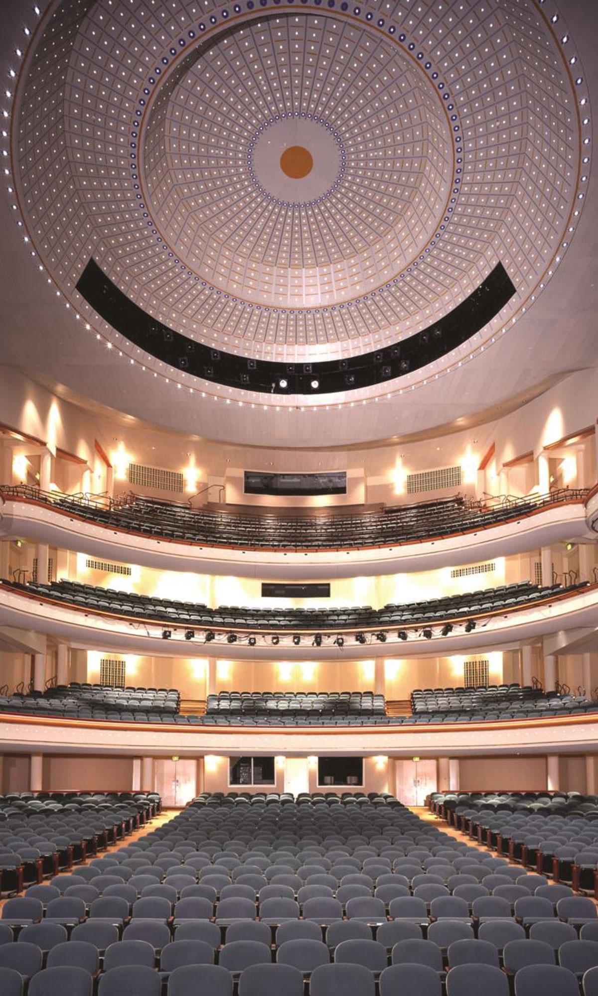 Blumenthal Performing Arts Center Interior 2