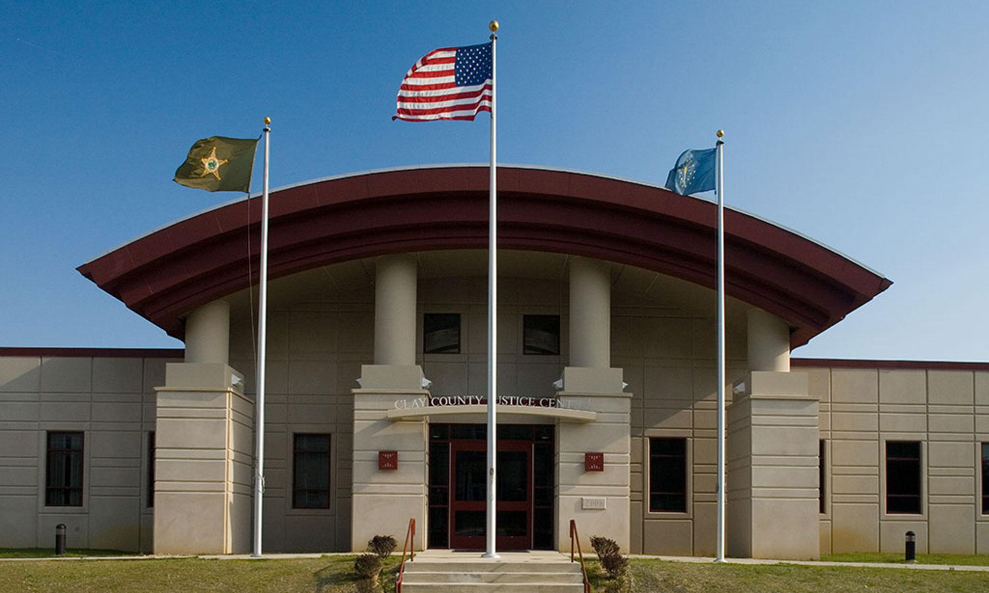 Clay County Jail Exterior