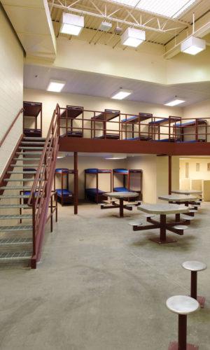 Clay County Jail Interior