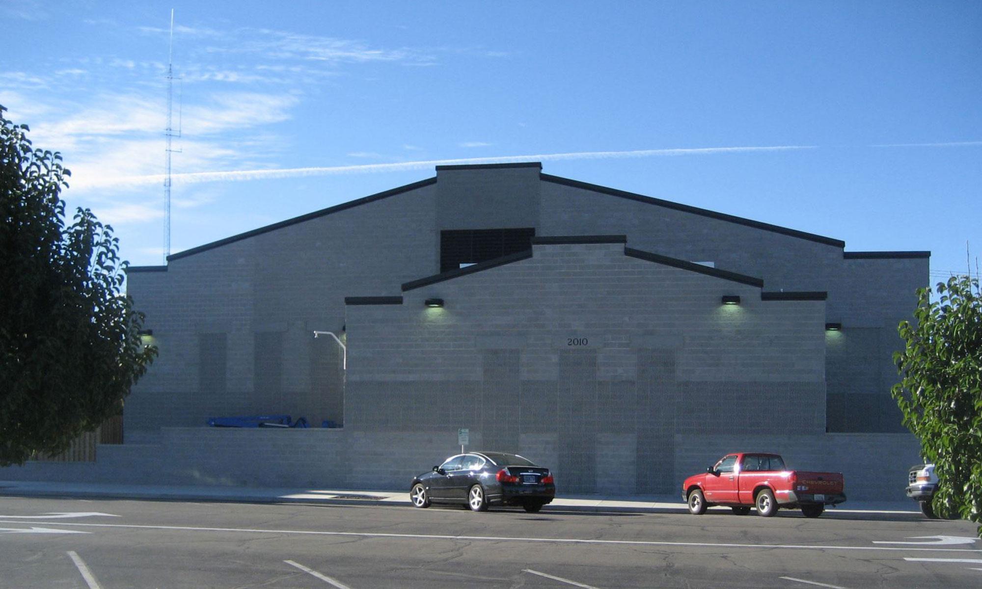 Jay County Jail Exterior