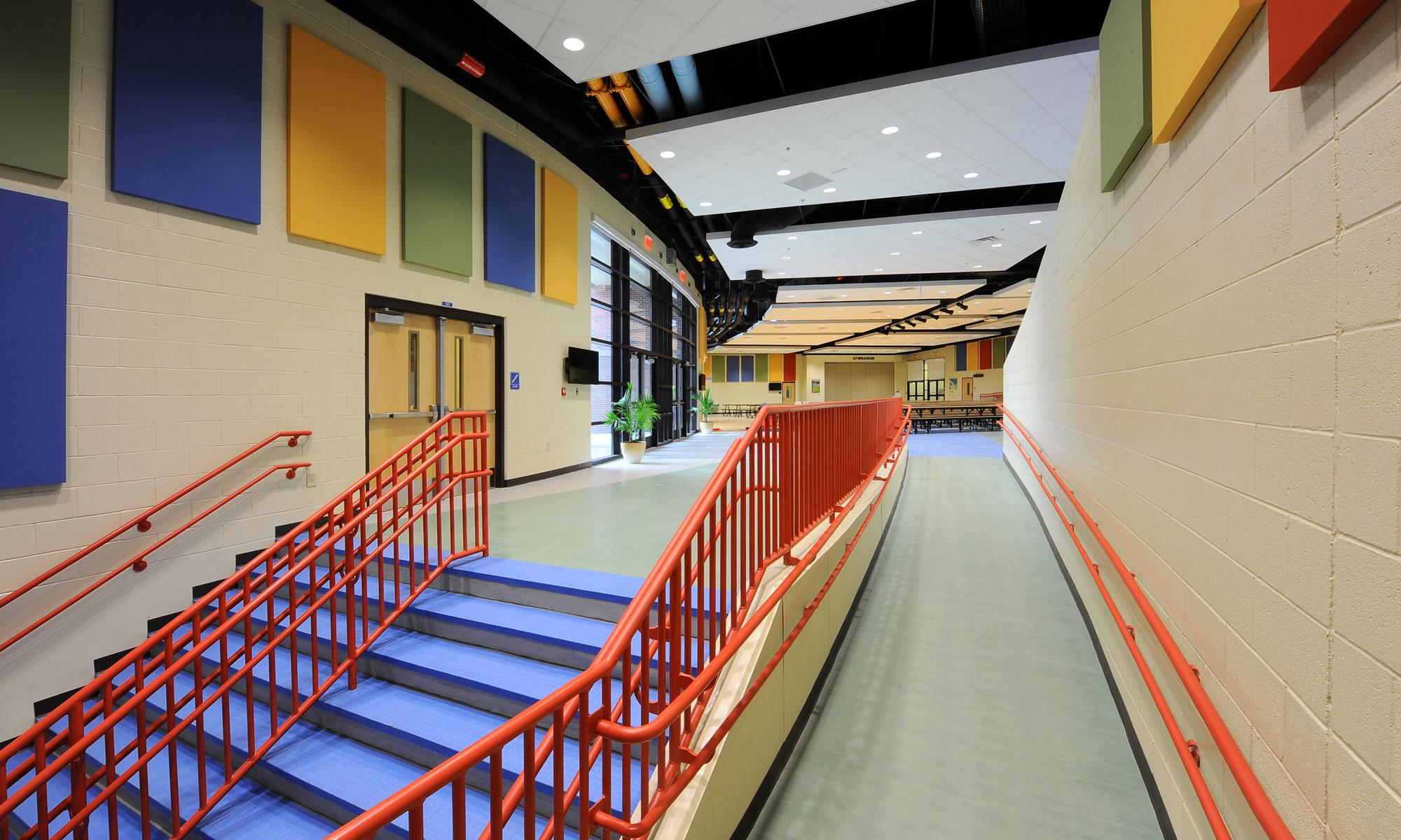 Kimberly Hampton Primary School Interior