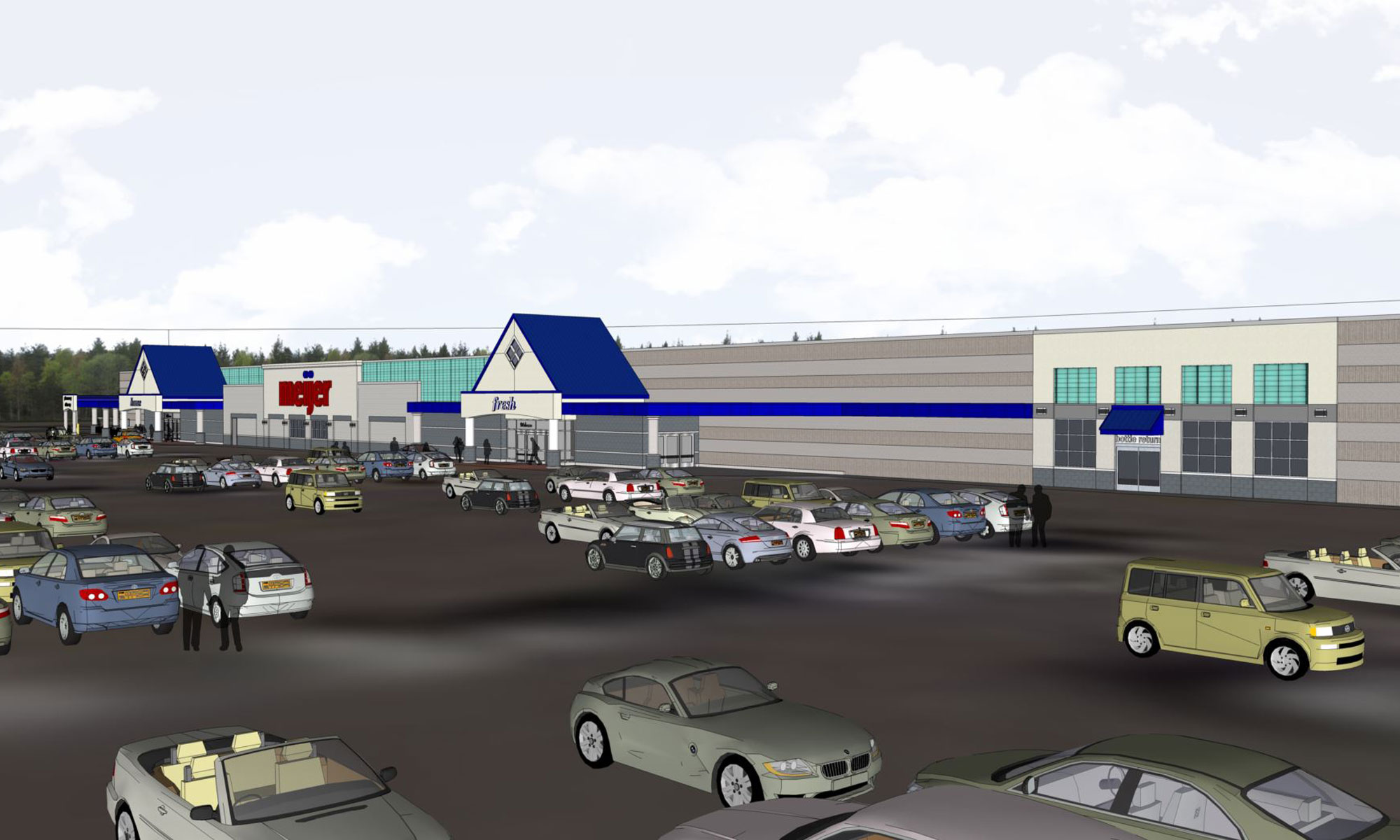 Meijer Superstore Remodel Digital Render