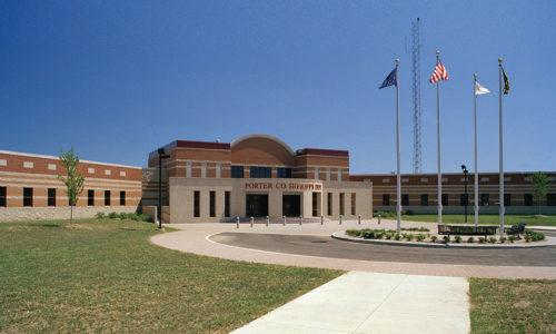 Porter County Jail Exterior