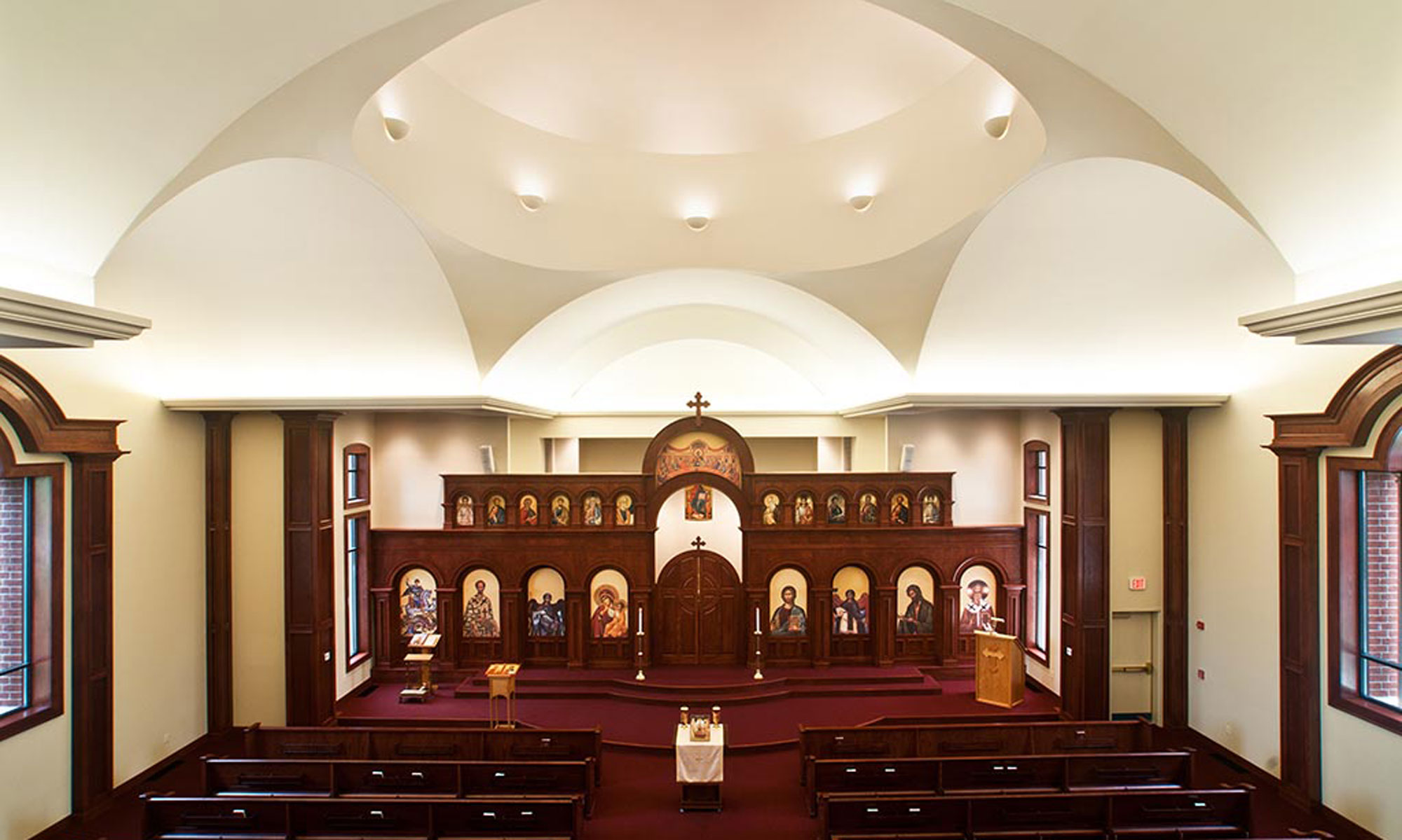 St. John Chrysostom Antiochian Orthodox Church Interior