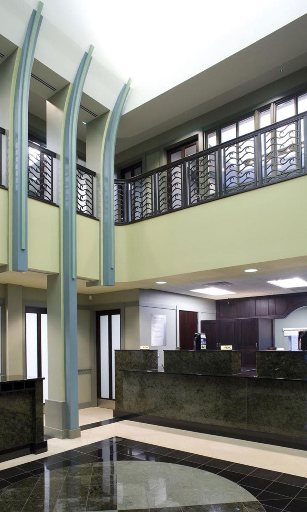 Tower Bank Interior