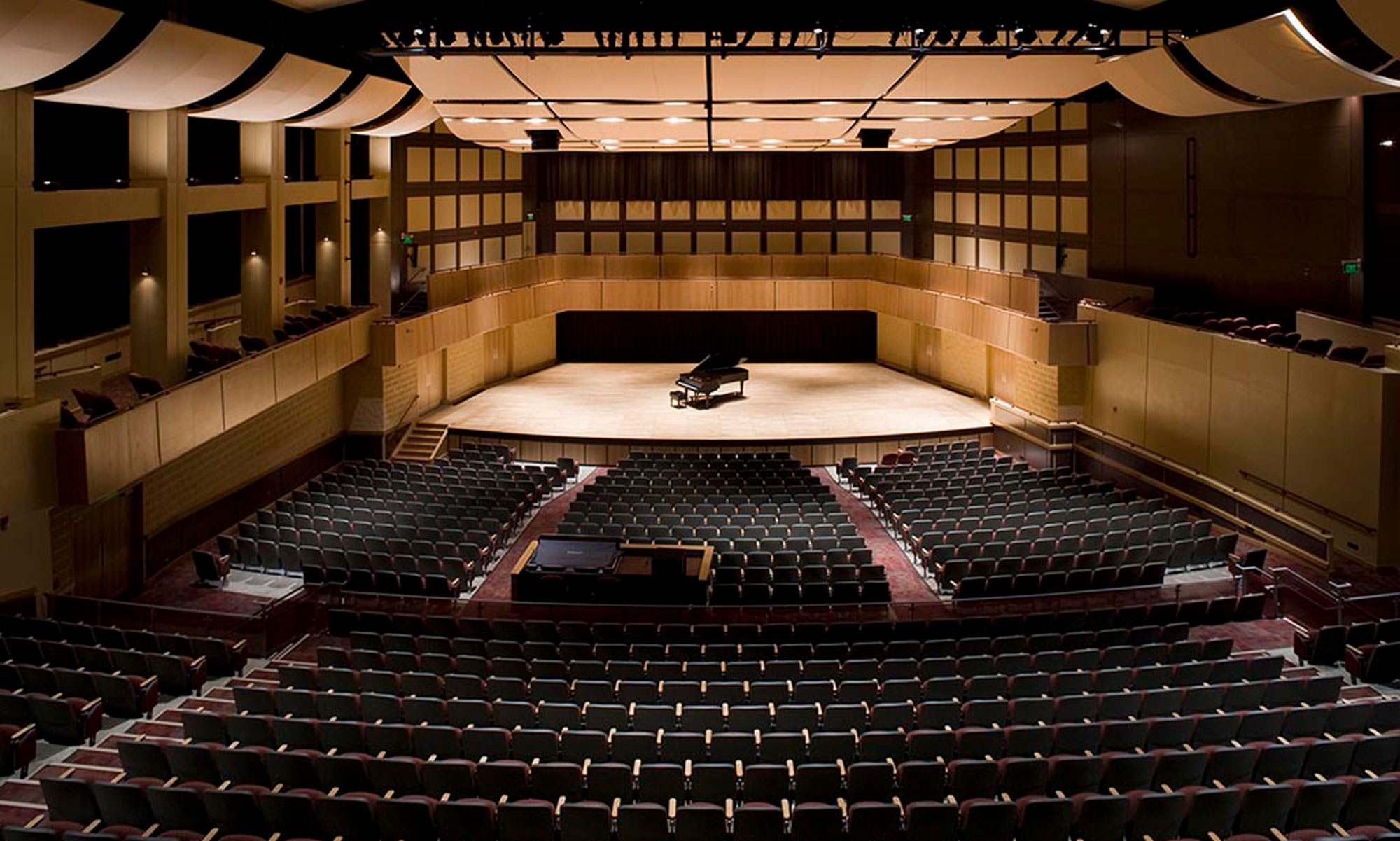 Rhinehart Music Center Interior