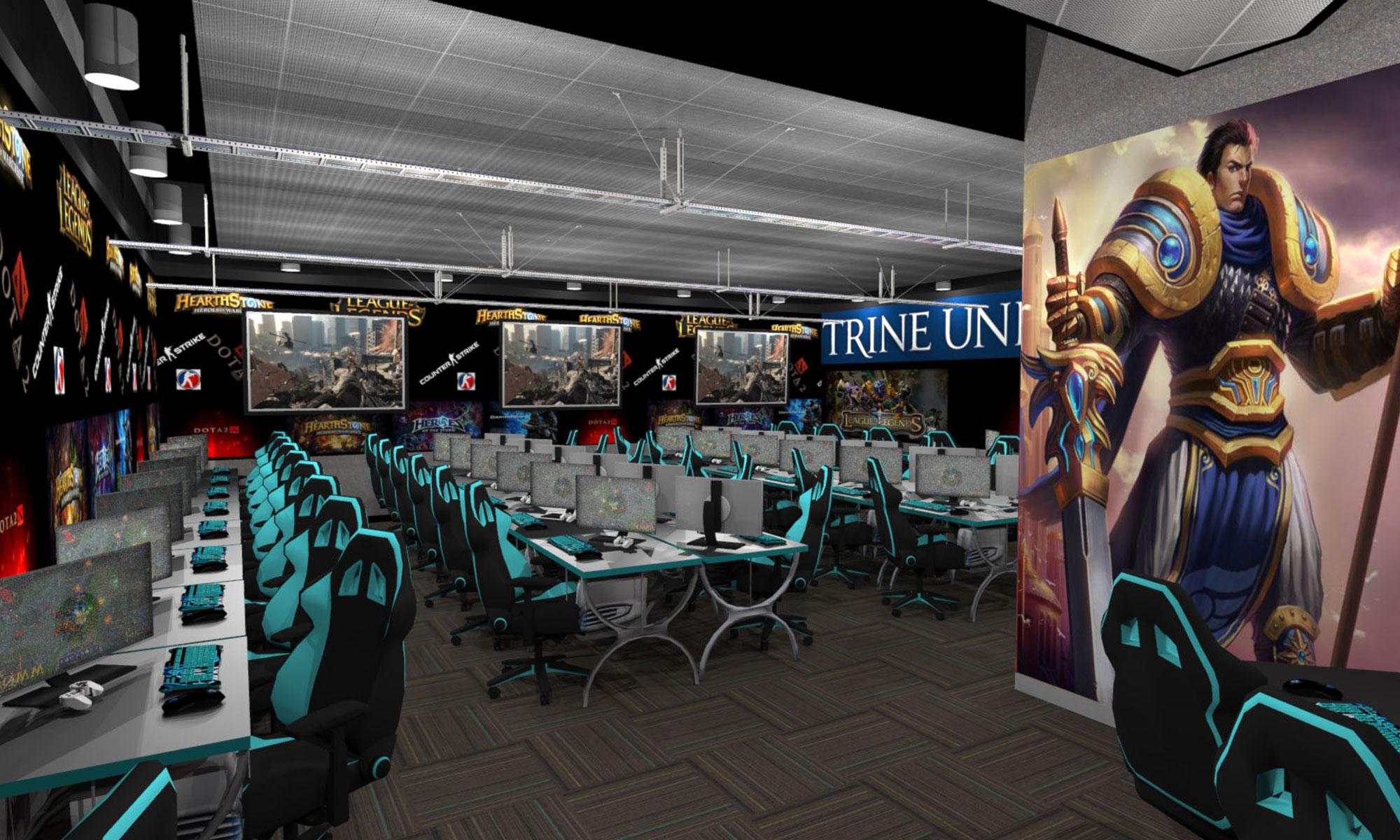Trine University Interior