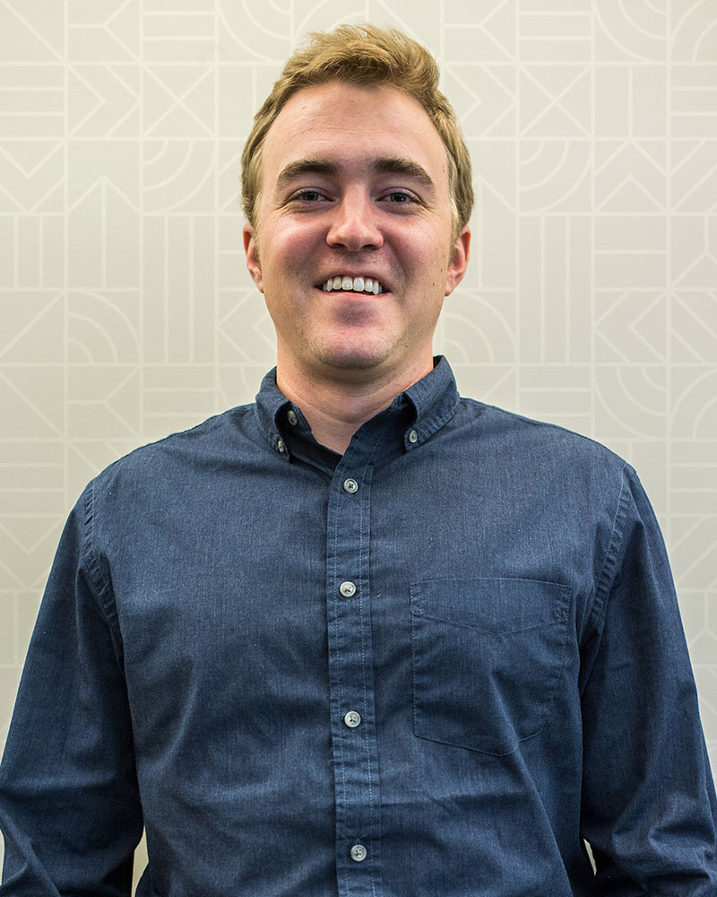 Sam Schaust Staff Portrait