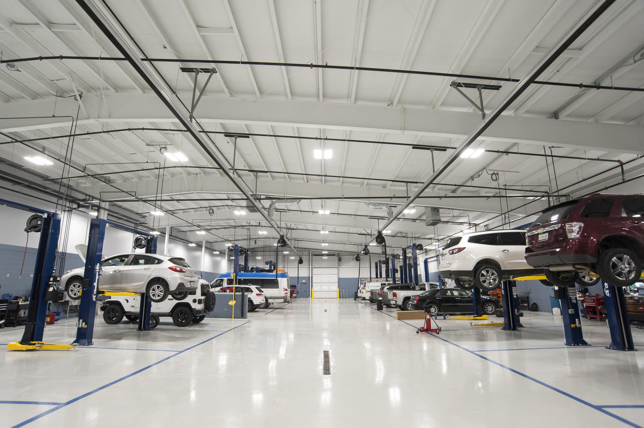 image of inside auto repair shop
