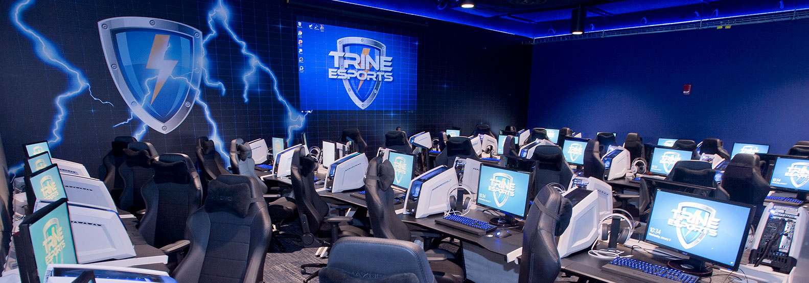 image of e-gaming lounge