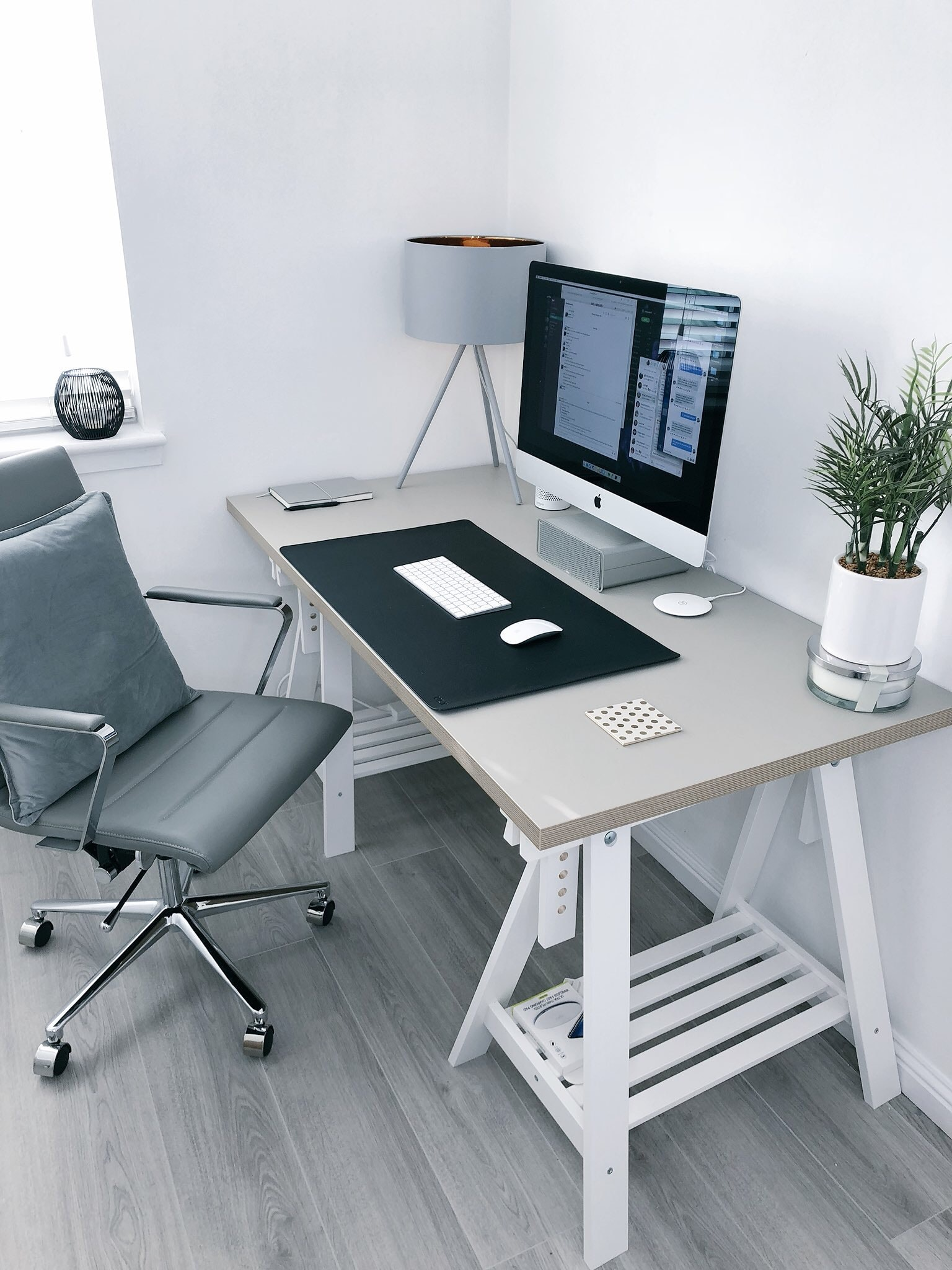 image of at-home desk