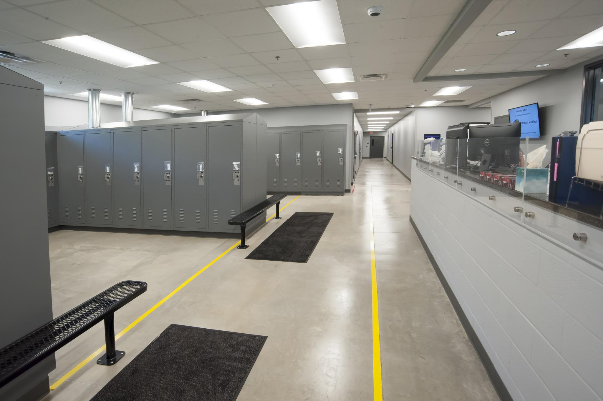 image of lockers