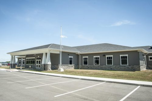 photo of exterior building