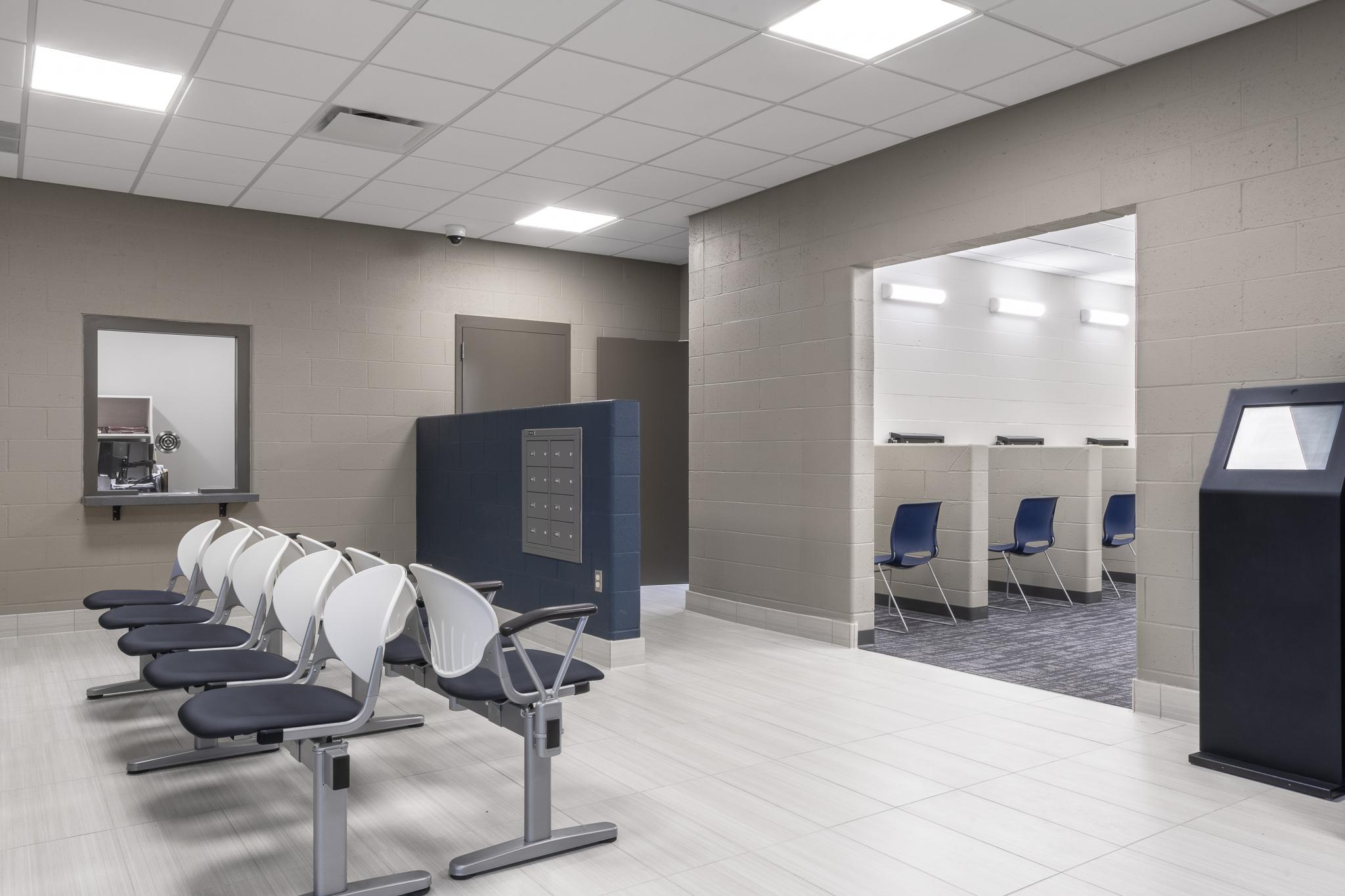 image of lobby space with seating