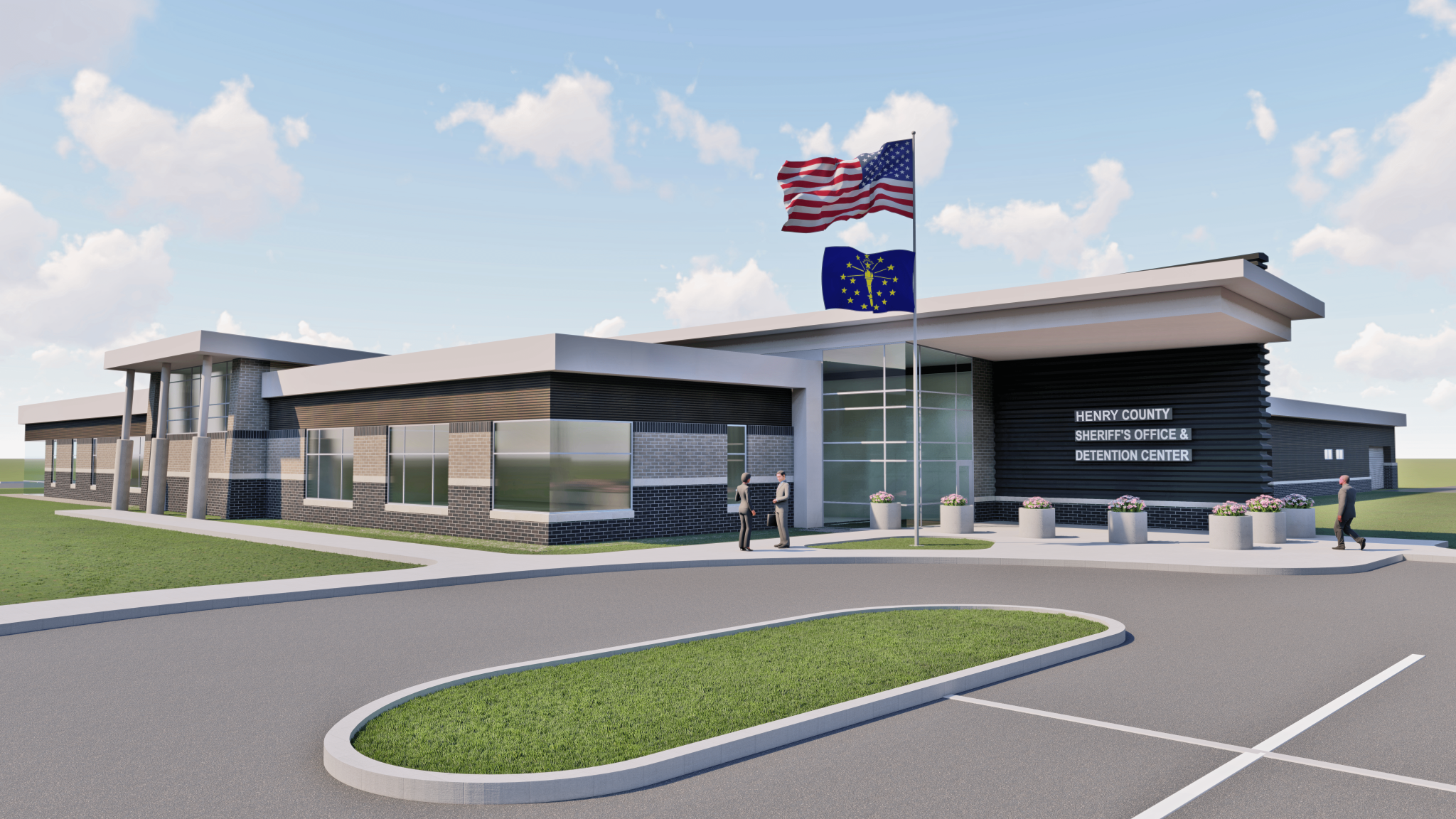 rendering of exterior of a building