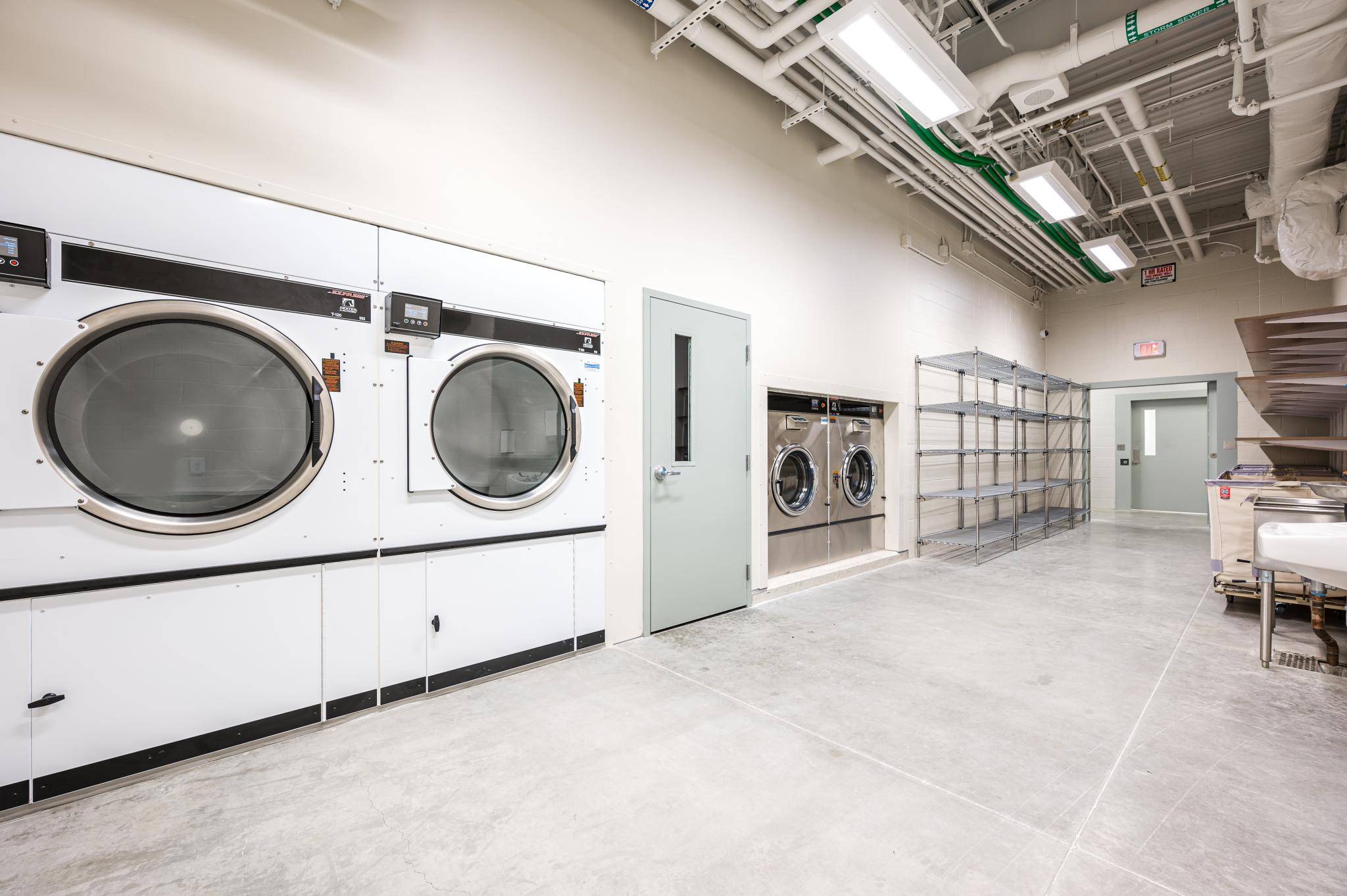 an image of a laundry room