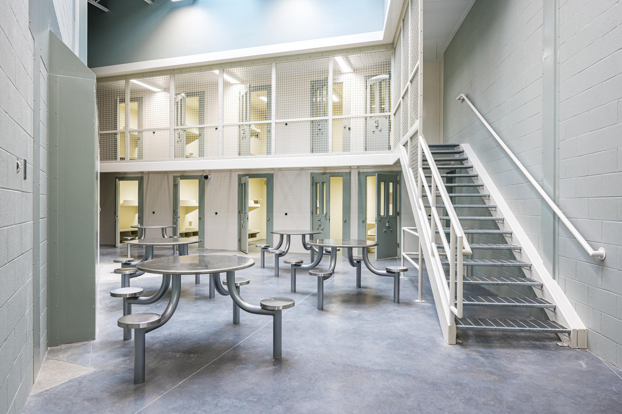 an image of a dayroom inside a jail
